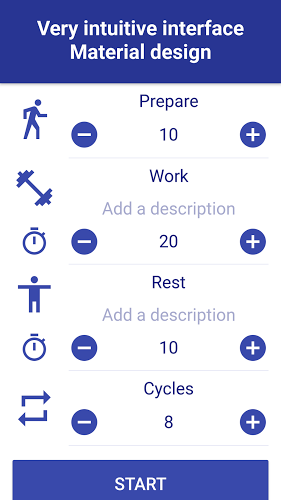 Tabata Timer: Interval Timer Workout Timer HIIT 1