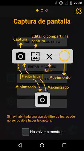 Touchshot, Captura de pantalla 2