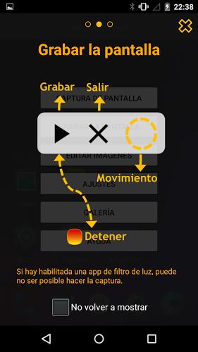 Touchshot, Captura de pantalla 3