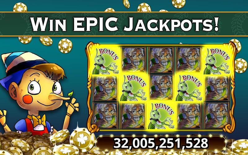 Tragamonedas de Jackpot Épico 5