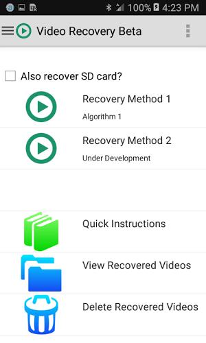 Video Recovery Beta 1