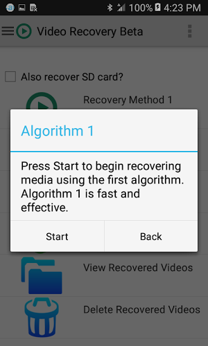 Video Recovery Beta 5