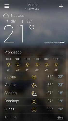 Yahoo Tiempo 2