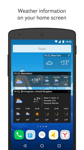 Yandex.Weather 4